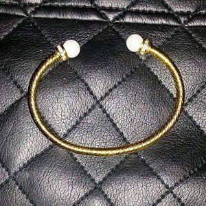 Majorica bracelet.